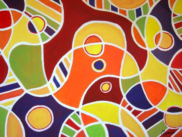 Irregular rhythm art